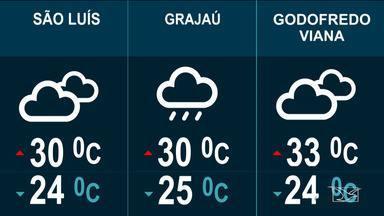 Veja a previsão do tempo nesta terça-feira (14) no MA - Confira como deve ficar o tempo e a temperatura em São Luís e no Maranhão.