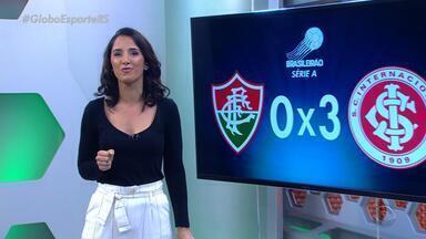 Globo Esporte RS - bloco 1 - 14/08/2018 - Assista ao vídeo.