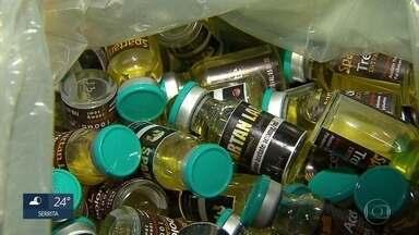 Consumo exagerado de anabolizantes pode gerar prejuízos à saúde - No sábado (11), um laboratório clandestino de anabolizantes foi fechado no Grande Recife.