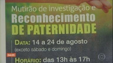Defensoria Pública de SP faz mutirão para reconhecimento de paternidade - Mais de cinco milhões de pessoas no Brasil não tem o nome do pai na certidão de nascimento.