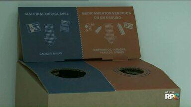 Saiba como descartar medicamentos - Em Paranavaí tem dois pontos de coleta: Farmácia Municipal e na Farmácia da 14ª Regional de Saúde.