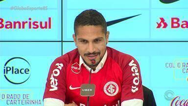 Atacante peruano Paolo Guerrero fala da sua relação com D'Alessandro - Assista ao vídeo.