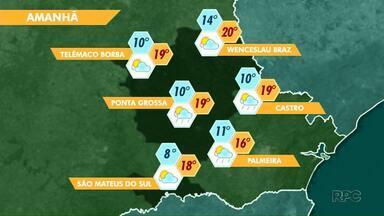 Previsão de tempo encoberto nesta quinta-feira - Nebulosidade pode trazer possibilidade de chuva para Ponta Grossa.