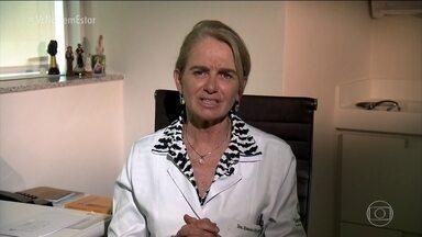Infectologista tira dúvidas sobre o sarampo - Quem pode tomar a vacina? Quem não pode? Não lembro se tomei a vacina, devo tomar de novo? A infectologista Rosana Richtmann responde perguntas dos telespectadores.