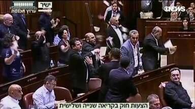 A polêmica lei do Parlamento Israelense