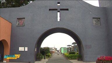 Polícia investiga o furto de um caixão com o corpo de uma criança - O furto aconteceu no cemitério do Boqueirão, em Curitiba.