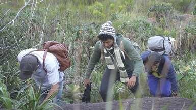 Aldri Anunciação faz trilha de 3 km com destino ao pico da Serra de Santana - Aldri Anunciação faz trilha de 3 km com destino ao pico da Serra de Santana