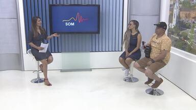 A convidada do SOM RO deste sábado é a cantora Juliana Diniz - A cantora lançou seu primeiro CD aos 18 anos.