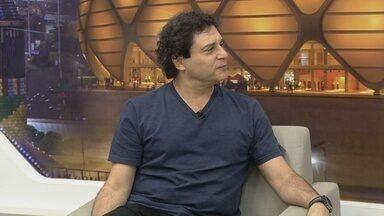 Cantor Frejat realiza show em Manaus - Artista concedeu entrevista ao Jornal do Amazonas 1ª edição.