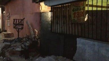 Lavador de carros bate veículo de cliente em Manaus - Segundo testemunhas, ele estaria aparentemente embriagado.