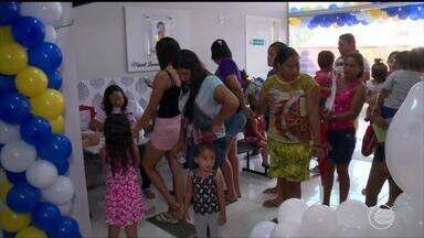 Ministro da Saúde visita Demerval Lobão no Dia D da campanha de vacinação - Ministro da Saúde visita Demerval Lobão no Dia D da campanha de vacinação