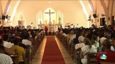 Paróquia São Pio X, em Aracaju, completa 60 anos - O repórter Cleverton Macedo tem mais informações.