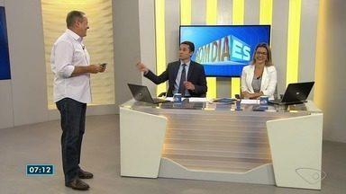 Comentarista do ES mostra os gols do final de semana - Internacional venceu o Paraná por 1x0.