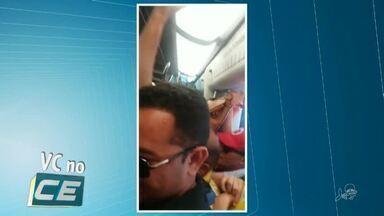 Metrô de Fortaleza é paralisado durante uma hora por conta de árvore caída - Saiba mais em g1.com.br/ce