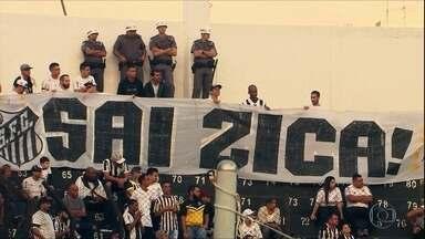 Santos vence e afasta zica no Brasileirão - Santos vence e afasta zica no Brasileirão