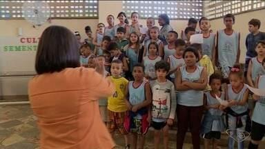 Projeto oferece atividades culturais e esportivas para crianças de Cachoeiro de Itapemirim - Projeto Villagindo já tem mais de 18 anos de atividade.