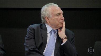 Ministro do STF autoriza PF a cruzar dados de investigações sobre Temer - PF vai poder usar provas do inquérito dos portos, que apura se Temer beneficiou empresas do setor, na investigação sobre suposto repasse de R$ 10 milhões da Odebrecht ao MDB.