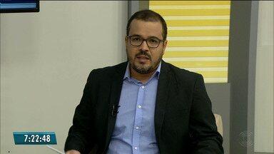 Radialista Fabiano Gomes é preso pela Polícia Federal em João Pessoa - Prisão preventiva foi determinada pelo TJPB. Radialista é um dos denunciados na Operação Xeque-mate. Veja também os destaques de Política do dia com Laerte Cerqueira.