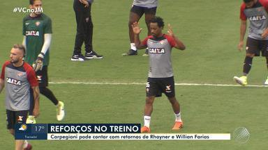 Vitória enfrenta o Flamengo na quinta-feira (23) pelo Campeonato Brasileiro - Veja os destaques do rubro negro baiano.