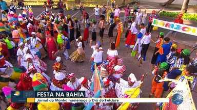 JM especial celebra o Dia do Folclore com diversas manifestações culturais - Nesta quarta (22) é comemorado o Dia do Folclore.