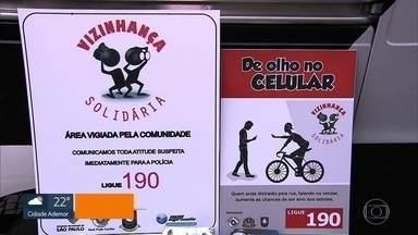Mais de 1.700 celulares foram roubados na capital só no mês de junho - Em Santo André, a polícia investiga dois homens presos fazem parte de uma quadrilha e se eles estão envolvidos em pelo menos duas mortes.