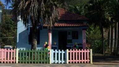 Oficina de histórias folclóricas será realizada em Santa Isabel até domingo. - As atividades estão sendo realizadas na gibiteca Maurício de Souza.