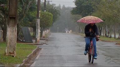 Fronteira com o Paraguai pode ter temporal nesta quarta-feira - Previsão é da meteorologia.