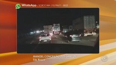 Três pessoas ficam feridas após acidente na rodovia Castello Branco - undefined