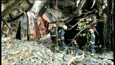 19 pessoas morreram no incêndio de um hotel na China - O fogo foi na cidade de Harbin