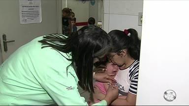 Acaba nessa semana período de vacinação contra polio e o sarampo - Várias cidades ainda não atingiram a meta. Entre as cidades de menor cobertura estão São Bento do Una, Triunfo e Inajá.