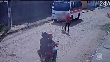 Mototaxista é suspeito de assaltos no Litoral do Piauí - Mototaxista é suspeito de assaltos no Litoral do Piauí