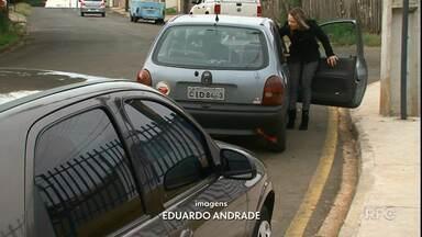 Pais reclamam do trânsito em frente a Cmei de Guarapuava - Segundo eles, problemas aumentam no horário de chegada e saída de alunos.