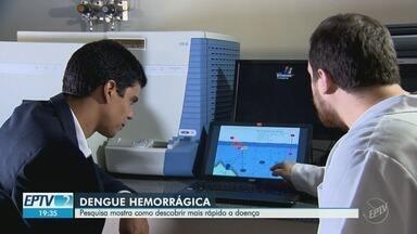 Pesquisadores da Unicamp avançam no diagnóstico da dengue hemorrágica - Novo método promete identificar se o paciente pode contrair a doença e melhorar o tratamento.
