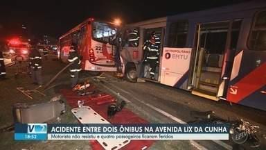 Corpo de motorista de ônibus vítima de acidente na Lix da Cunha é enterrado em Campinas - Colisão entre veículos aconteceu na noite desta terça-feira (28).