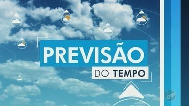 Saiba como fica a previsão do tempo nesta quinta-feira em Campinas e região - Tempo seco volta à região. Em Campinas, as máximas atingem os 29°C.
