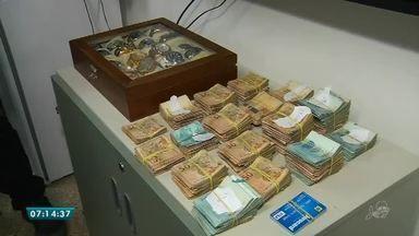 Operação desarticula esquema de lavagem de dinheiro e jogos de azar no Cariri - Saiba mais em g1.com.br/ce