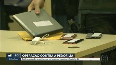 Polícia prende 10 suspeitos de pedofilia infantil na Baixada - Investigadores encontraram vídeos e fotos em computadores e celulares