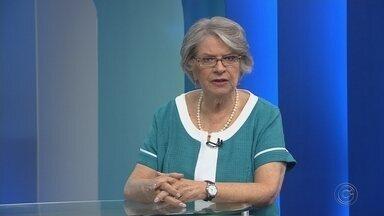 Lisete Arelaro, candidata ao governo de SP, é entrevistada no TEM Notícias - A candidata ao governo do Estado de São Paulo Lisete Arelaro (PSOL) foi entrevistada ao vivo no TEM Notícias 1ª Edição desta quinta-feira (30).