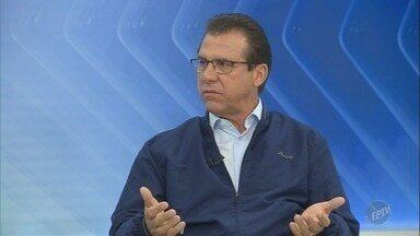 EPTV 1 entrevista Luiz Marinho, candidato do PT ao governo de São Paulo - Candidato apresenta propostas aos eleitores.