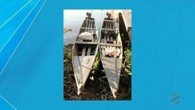 PMA autua quatro por pesca ilegal no rio Paraguai - Pescadores estavam usando tarrafas e boias, petrechos que são proibidos.