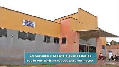 Corumbá estende vacinação contra sarampo e pólio - Campanha termina na sexta-feira (31). Mas devido à baixa procura foi estendida.