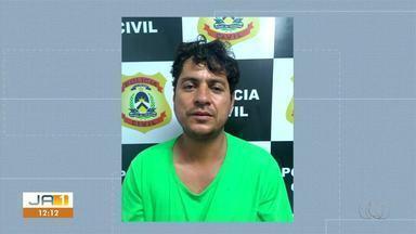 Suspeito de assalto a micro-ônibus em Pugmil confessa o crime e é preso - Suspeito de assalto a micro-ônibus em Pugmil confessa o crime e é preso