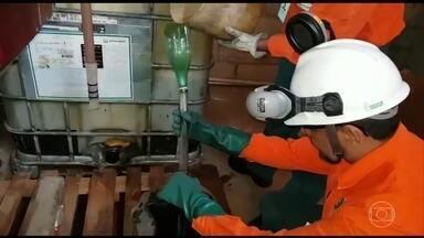 Operação do MP prende onze suspeitos de furtar combustível da Regap, em Betim - A gasolna desviada era vendida em cinco postos do Sul de Minas.