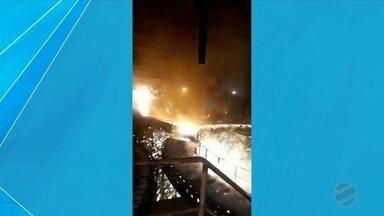 MPT vai investigar siderurgica em que trabalhador sofreu queimaduras - Trabalhador sofreu queimaduras graves durante combate a incêndio na vetorial siderurgia.