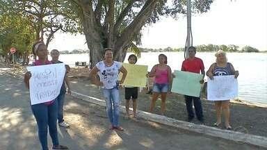 Moradores reclamam da situação de abandono do porto de Ladário - Cidade tem 240 anos. É uma das mais antigas do estado, mas não tem estrutura portuária adequada para receber turistas e nem atender aos moradores.