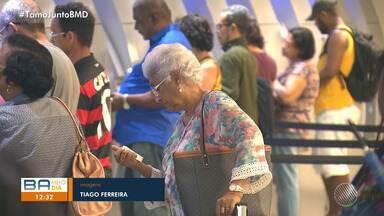 Antecipação do 13º salário dos aposentados deve movimentar a economia em Salvador - O Serviço de Proteção ao Crédito aponta que quase 5 milhões de endividados têm mais de 60 anos de idade.