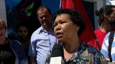Vera Lúcia, do PSTU, tem atividade de campanha em São Paulo - Jornal Nacional mostra como foram as atividades de campanha de candidatos à presidência nesta quinta (30).
