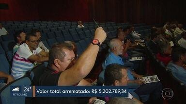 Imóveis, veículos e máquinas da massa falida da Usina Catende foram a leilão no Recife - Usina decretou falência há 23 anos e o valor da massa falida foi avaliado em mais de R$ 14 milhões.