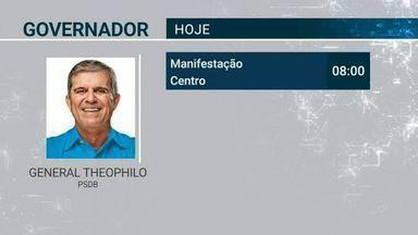 Confira a agenda dos candidatos nesta segunda (3) - Saiba mais em g1.com.br/ce