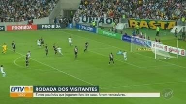 Times paulistas que jogaram fora de casa vencem no Campeonato Brasileiro - Entre as equipes da região, XV de Piracicaba vence PB Brasil por 1 a 0.